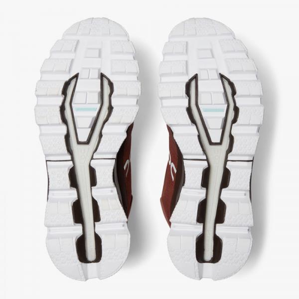 Pantofi sport barbati ON CLOUDROCK WATERPROOF Cocoa Red 1