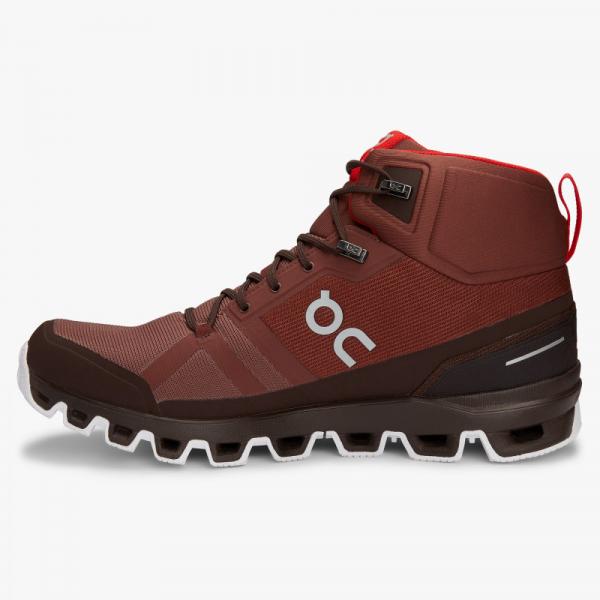 Pantofi sport barbati ON CLOUDROCK WATERPROOF Cocoa Red 3