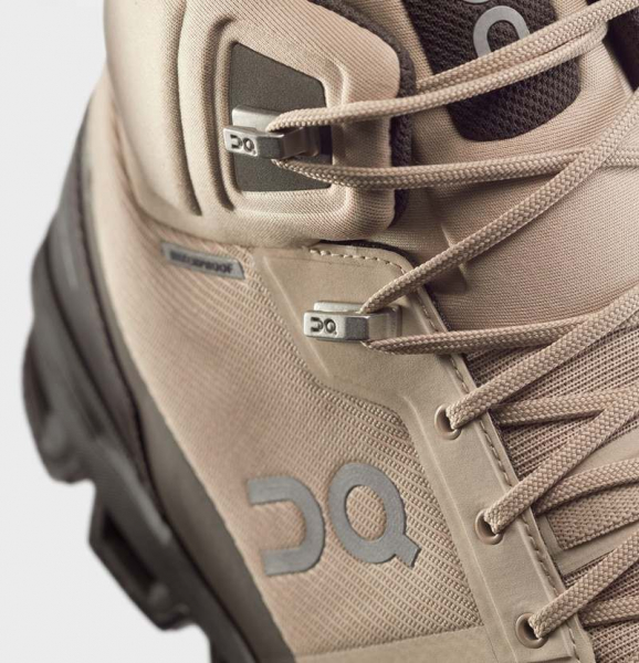 Pantofi sport barbati ON CLOUDROCK WATERPROOF Sand Black 1