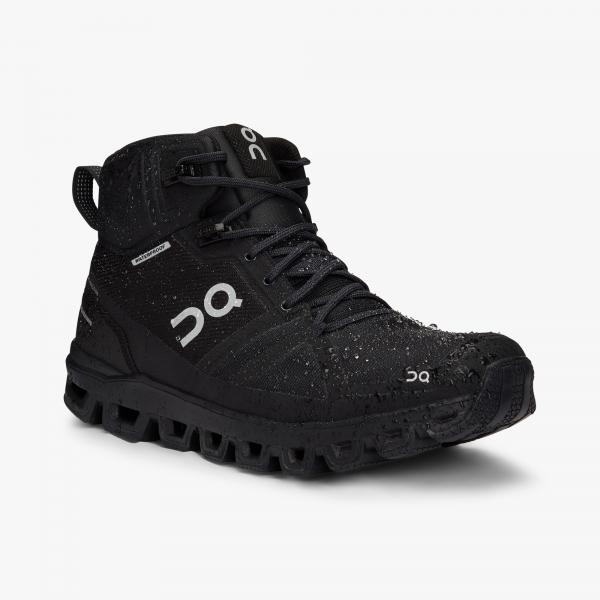 Pantofi sport dama ON W CLOUDROCK WATERPROOF All black 3