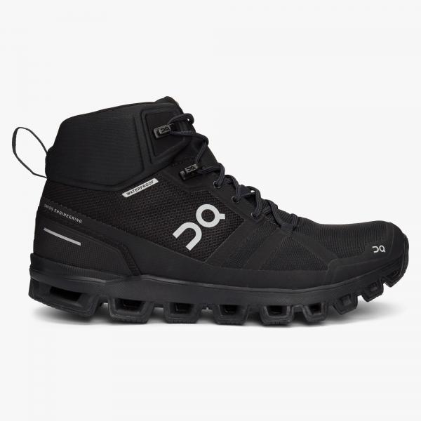 Pantofi sport dama ON W CLOUDROCK WATERPROOF All black 0