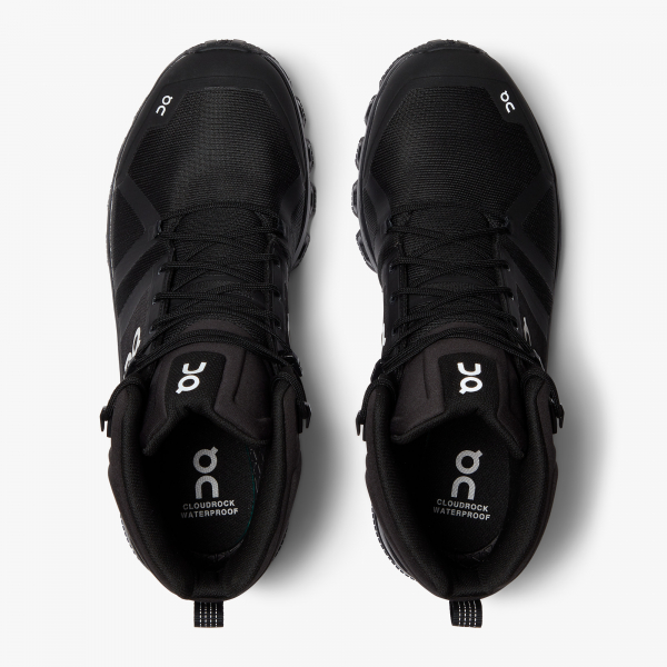 Pantofi sport dama ON W CLOUDROCK WATERPROOF All black 5