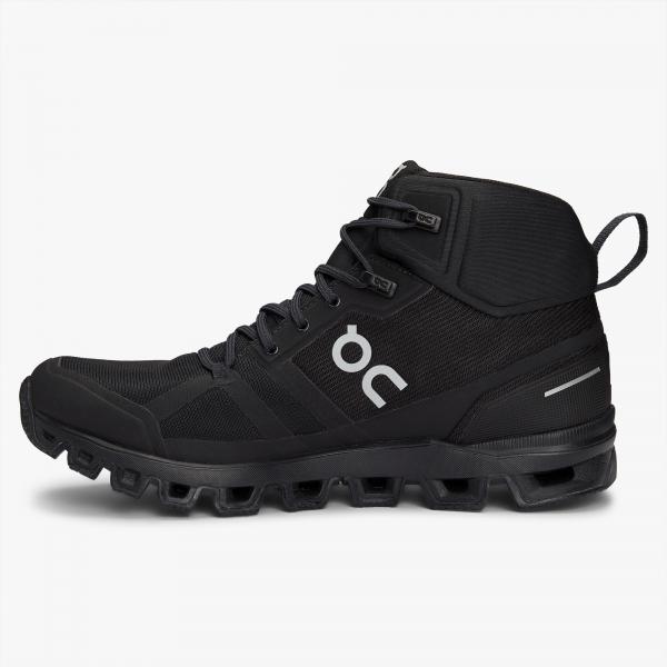 Pantofi sport dama ON W CLOUDROCK WATERPROOF All black 1