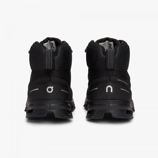 Pantofi sport dama ON W CLOUDROCK WATERPROOF All black 4