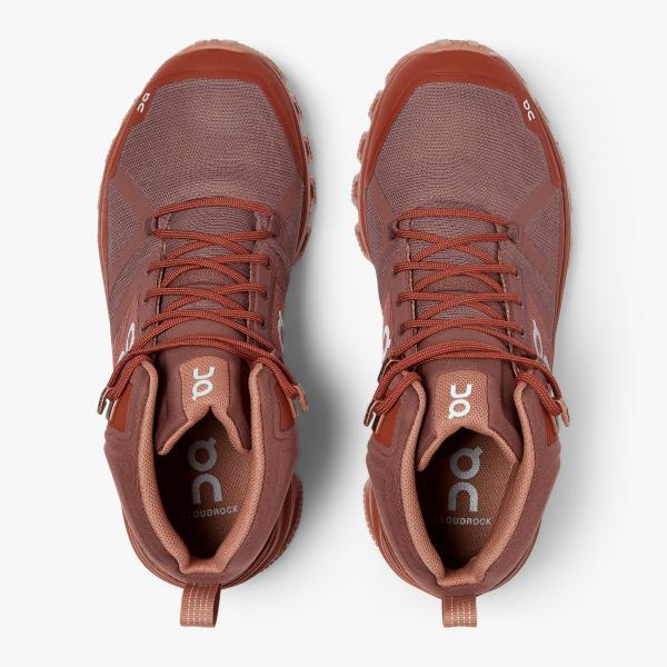 Pantofi sport dama ON W CLOUDROCK WATERPROOF Grape haze 4