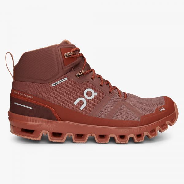 Pantofi sport dama ON W CLOUDROCK WATERPROOF Grape haze 0