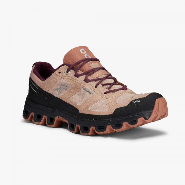 Pantofi sport dama ON W CLOUDVENTURE WATERPROOF Rosebrown / mulberry [3]