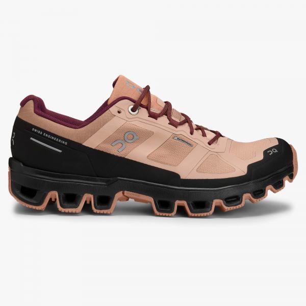 Pantofi sport dama ON W CLOUDVENTURE WATERPROOF Rosebrown / mulberry [0]