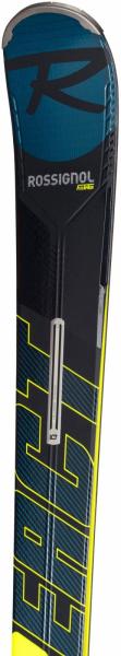 Schiuri + legaturi Rossignol REACT R8 HP/NX12 K.GW BK/YELL 5