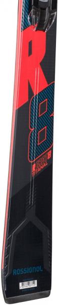 Schiuri + legaturi Rossignol REACT R8 TI + NX12 K.GW BK/RED 4