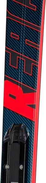 Schiuri + legaturi Rossignol REACT R8 TI + NX12 K.GW BK/RED 5