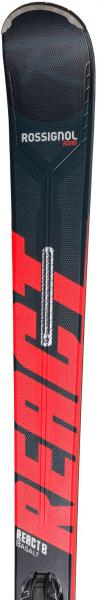 Schiuri + legaturi Rossignol REACT 8 HP + NX 12 Konect GW B80 BlackK/Red [2]