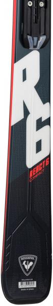 Schiuri + legaturi Rossignol REACT 6 Compact + XPress 11 GW B83 Black/Hot red 3