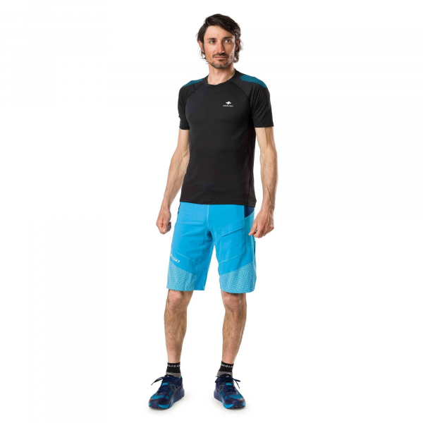 Short alergare barbati Raidlight FREETRAIL Blue / Dark blue 3