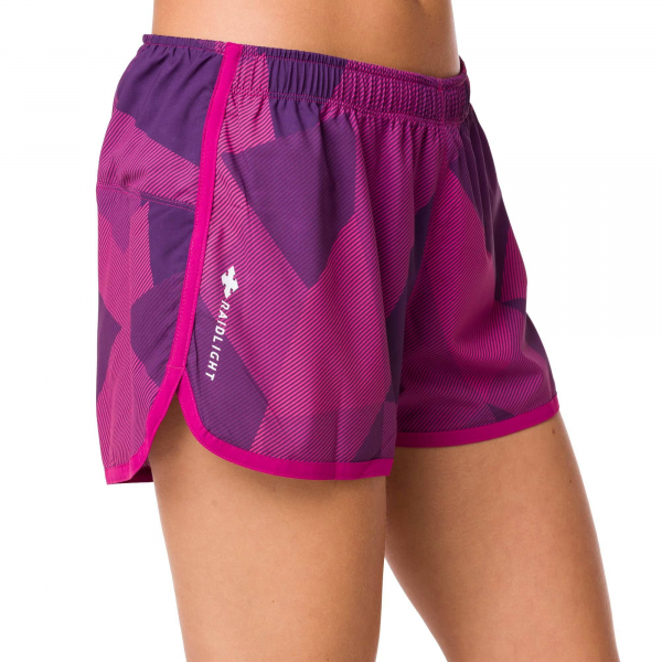 Short alergare dama Raidlight W ACTIV RUN Purple 4