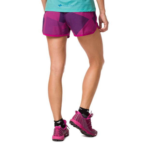 Short alergare dama Raidlight W ACTIV RUN Purple 1