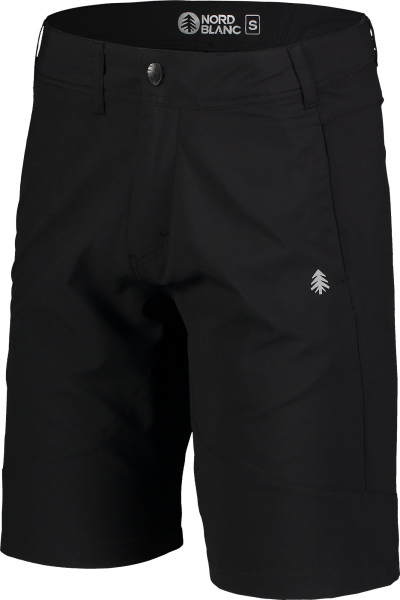 Pantaloni scurti barbati Nordblanc REUTE outdoor ultra light Black 1