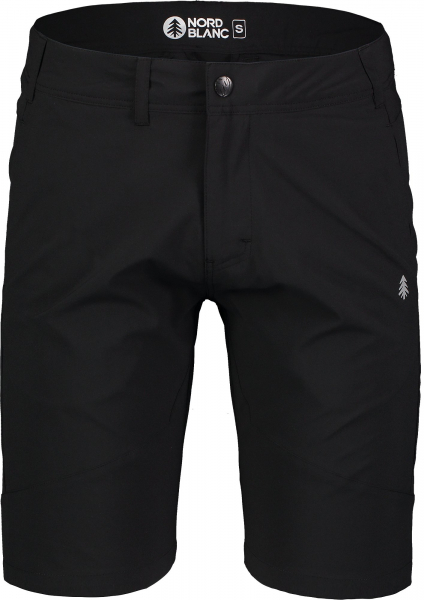 Pantaloni scurti barbati Nordblanc REUTE outdoor ultra light Black 0