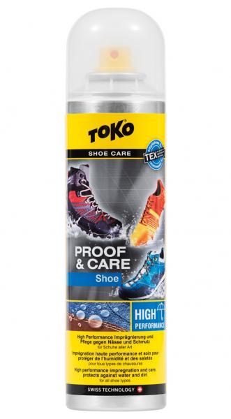 Spray impermeabilizare TOKO SHOE PROOF&CARE 250 ml 0