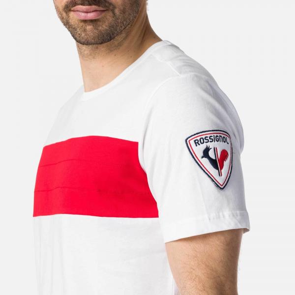 Tricou barbati Rossignol COLORBLOCK White 1