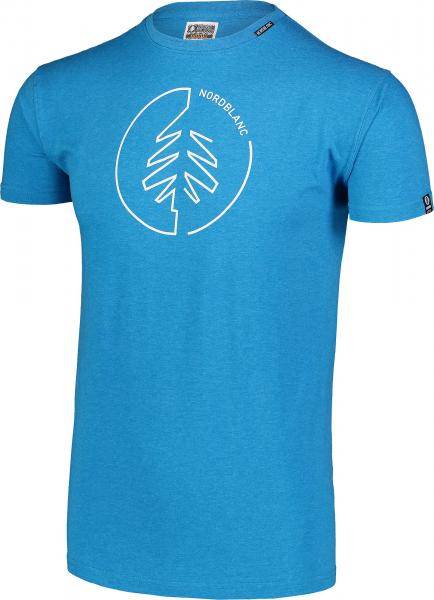 Tricou barbati Nordblanc CIRCLET Cotton Azure 1