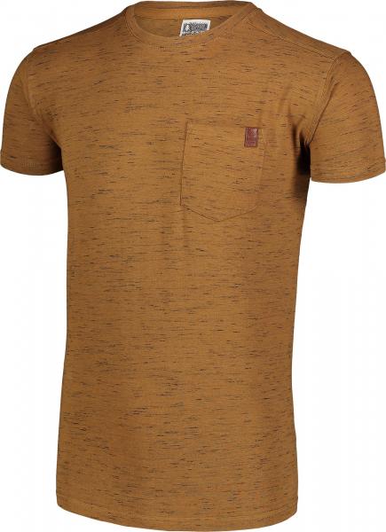 Tricou barbati Nordblanc ANNEAL Cotton Tawny brown 2