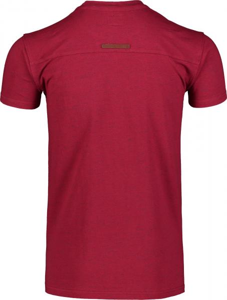 Tricou barbati Nordblanc ANNEAL Cotton Deep red 3