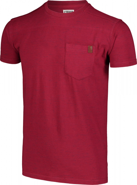Tricou barbati Nordblanc ANNEAL Cotton Deep red 2
