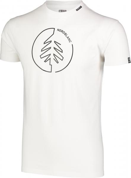 Tricou barbati Nordblanc CIRCLET Cotton White 1