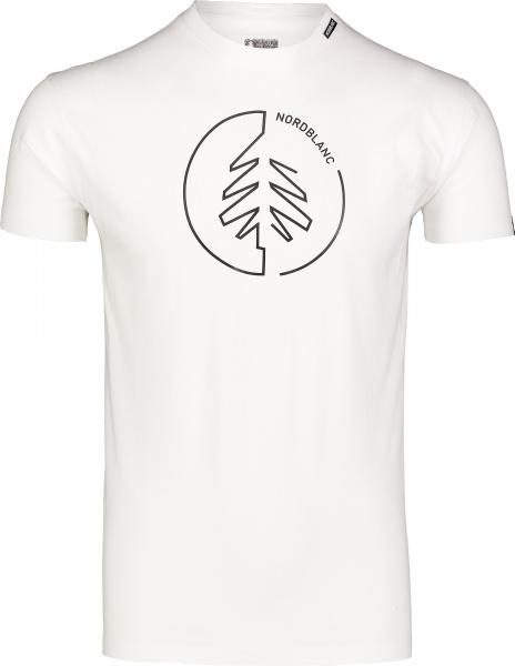 Tricou barbati Nordblanc CIRCLET Cotton White 0