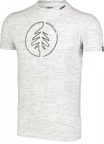 Tricou barbati Nordblanc CIRCLET Cotton light grey melange 1