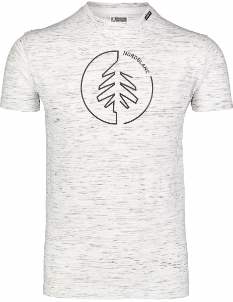 Tricou barbati Nordblanc CIRCLET Cotton light grey melange 0