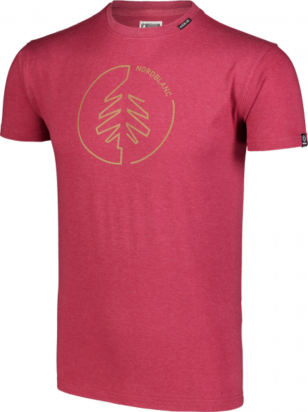 Tricou barbati Nordblanc CIRCLET Cotton deep red 1