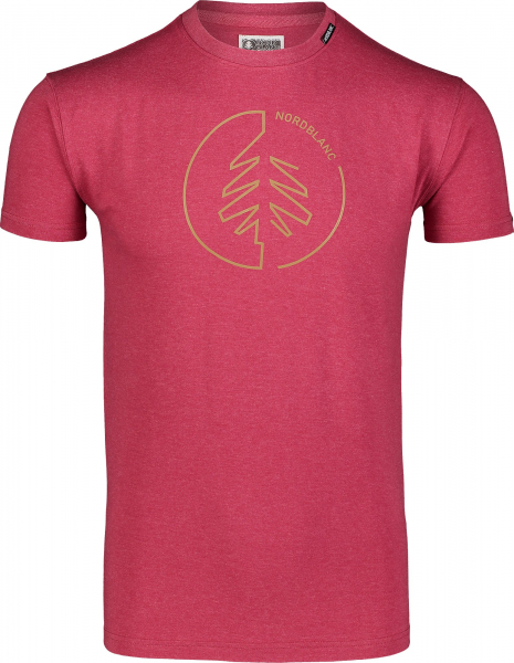 Tricou barbati Nordblanc CIRCLET Cotton deep red 0