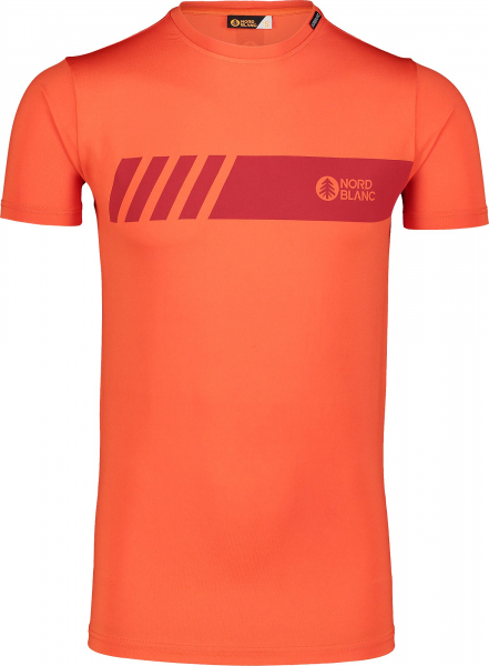 Tricou barbati Nordblanc ELUSIVE fitness Orange ink 0