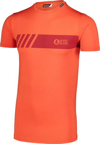 Tricou barbati Nordblanc ELUSIVE fitness Orange ink 1