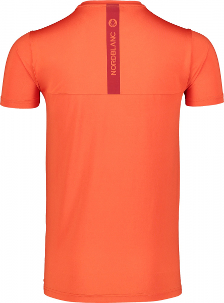 Tricou barbati Nordblanc ELUSIVE fitness Orange ink 2