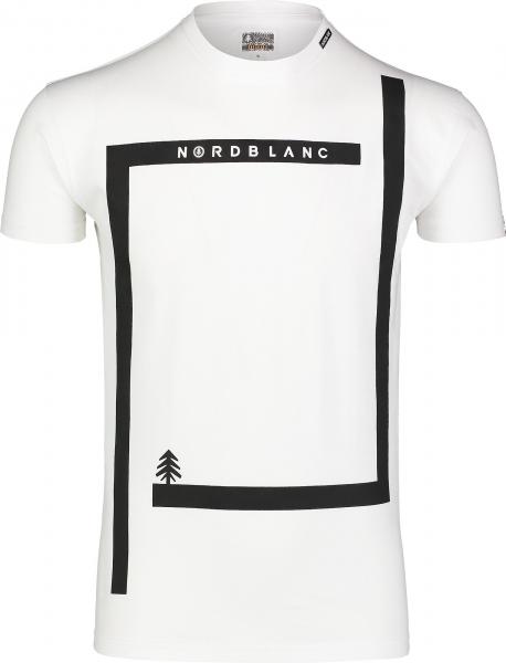 Tricou barbati Nordblanc ENFRAME cotton White 0