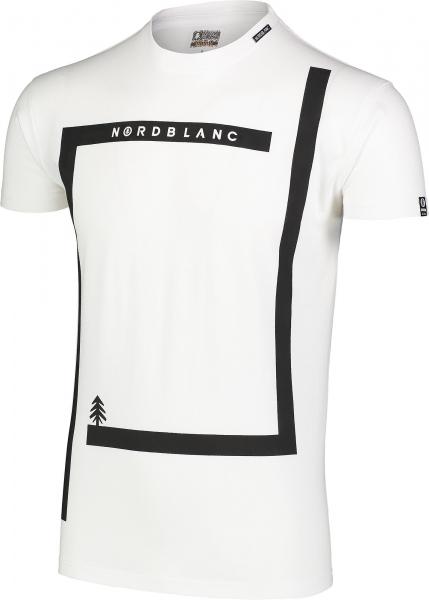 Tricou barbati Nordblanc ENFRAME cotton White 1