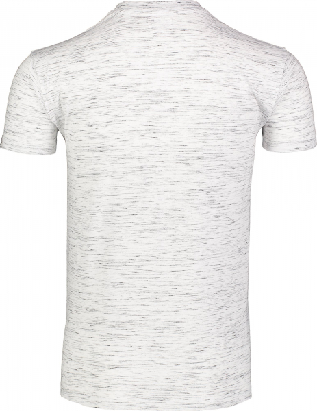 Tricou barbati Nordblanc ENFRAME cotton Light grey melange 3