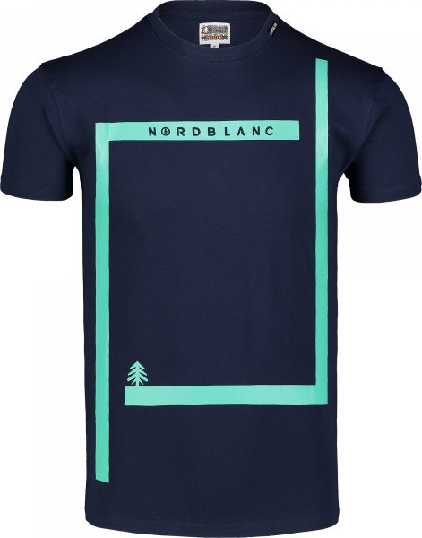 Tricou barbati Nordblanc ENFRAME cotton Dark blue 0