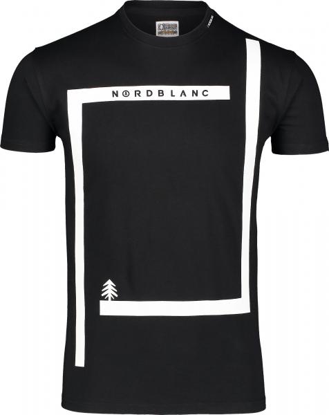 Tricou barbati Nordblanc ENFRAME cotton Black 0