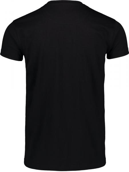 Tricou barbati Nordblanc FLAG supersoft cotton Black 1