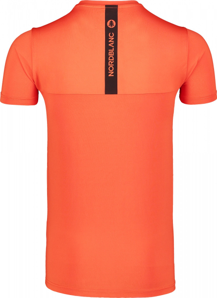 Tricou barbati Nordblanc FULFIL fitness Orange ink 2