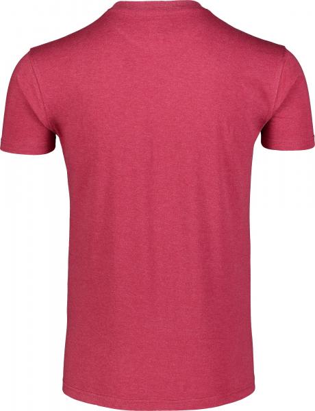 Tricou barbati Nordblanc OBEDIENT cotton Deep red 3