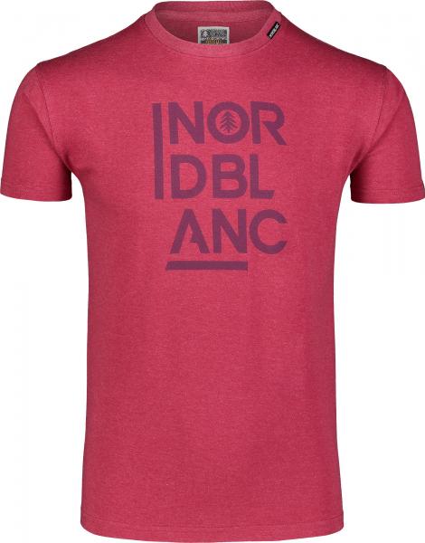 Tricou barbati Nordblanc OBEDIENT cotton Deep red 0