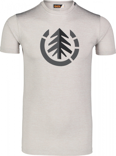 Tricou barbati Nordblanc FULFIL fitness Light grey melange 0