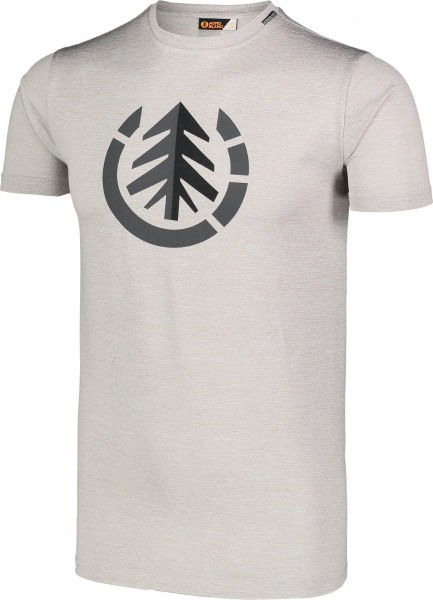 Tricou barbati Nordblanc FULFIL fitness Light grey melange 1