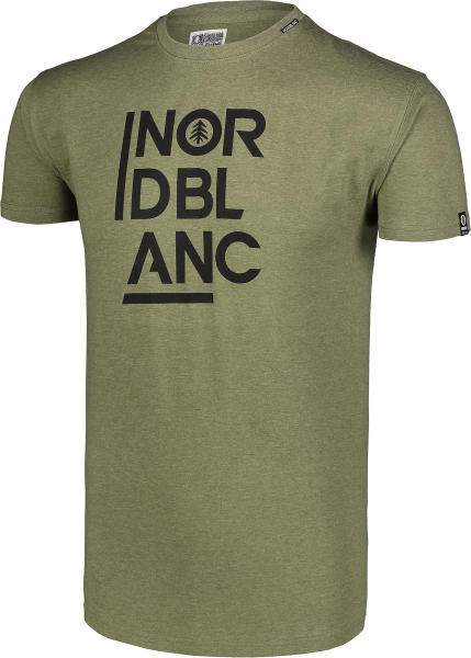 Tricou barbati Nordblanc OBEDIENT cotton Green arhard 1