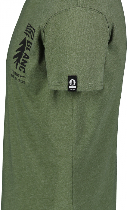 Tricou Barbati Nordblanc SARMY COTTON green orchaRd [3]